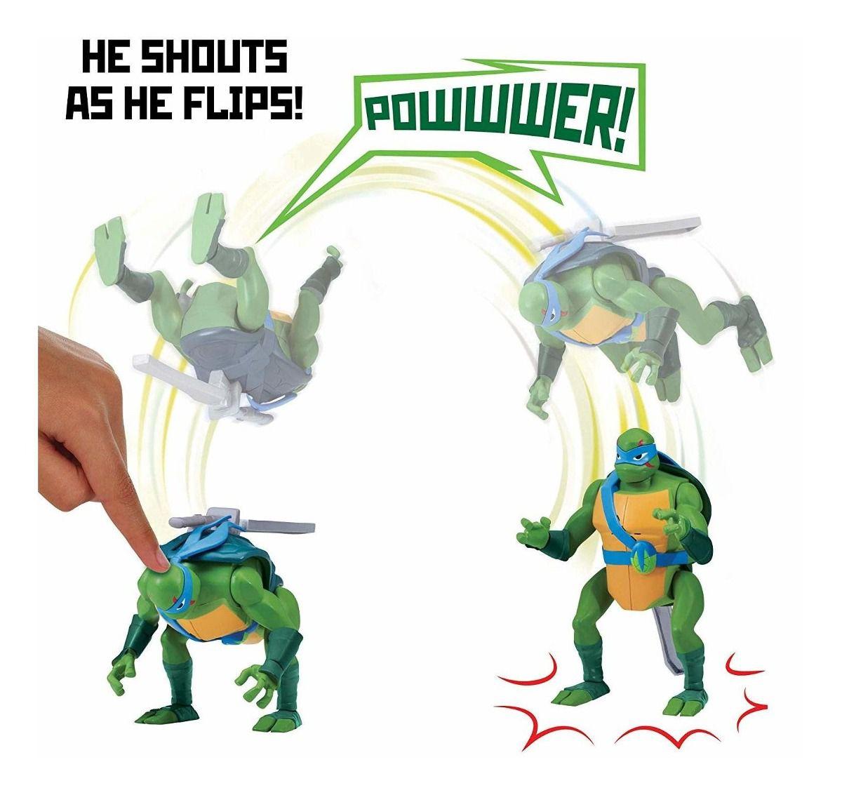 Boneco Action Figure Tartarugas Ninjas Leonardo Com Som Sunny 2041