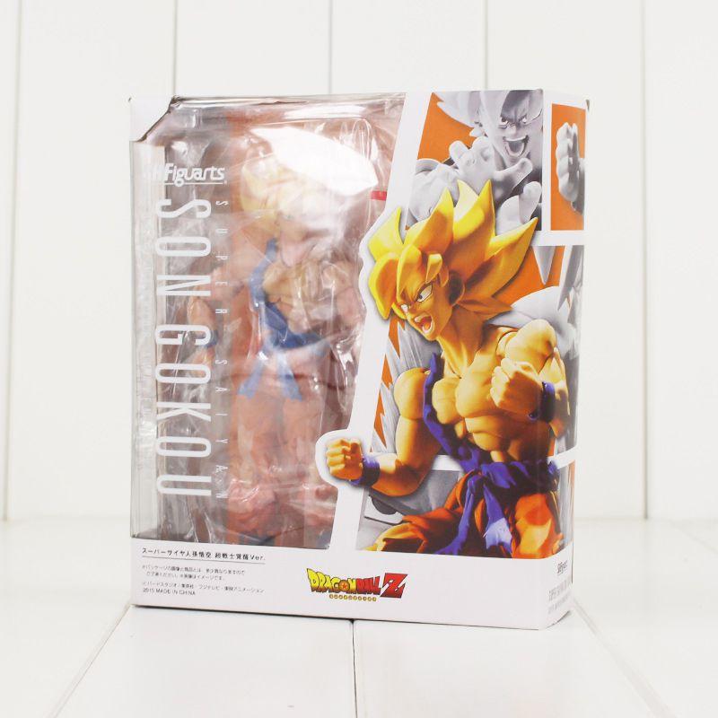 Boneco Articulado Goku Ssj Figuarts 16cm - DUPL