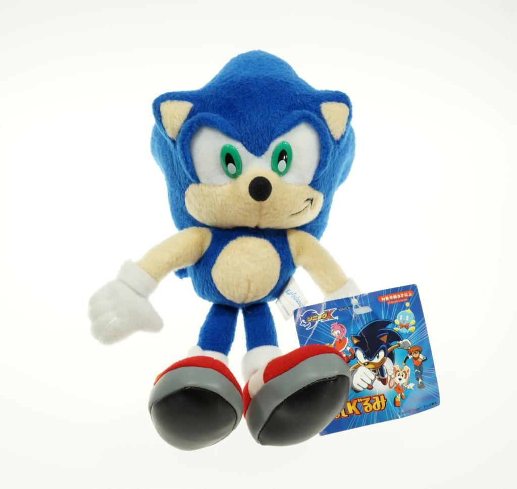 Boneco De Pelúcia Sonic The Hedgehog Sega Pronta Entrega