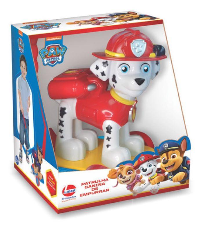 Boneco Empurrar Patrulha Canina Olaf Frozen Disney By Líder Brinquedos - Olaf