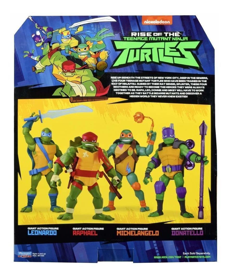 Boneco Figure Gigante Tartarugas Ninjas Donatello 30cm Sunny 2042