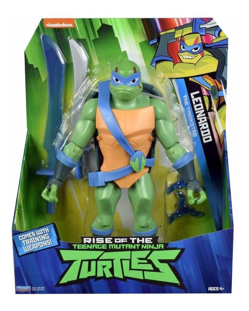 Boneco Figure Gigante Tartarugas Ninjas Leonardo 30cm Sunny 2042