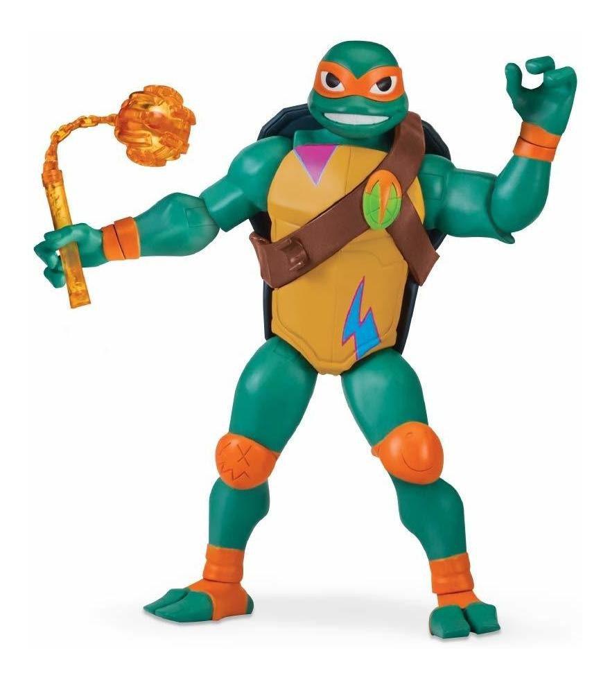Boneco Figure Gigante Tartarugas Ninjas Michelangelo 30cm 2042