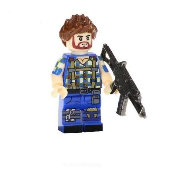 Boneco Fortnite Compatível Lego Construtor