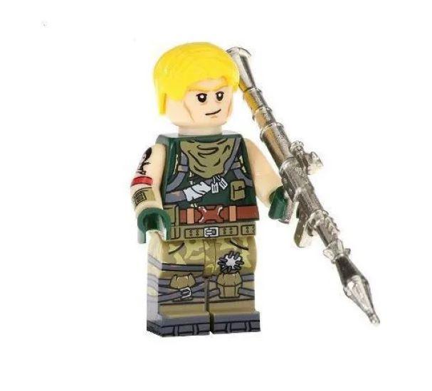 Boneco Fortnite Compatível Lego Jonesy