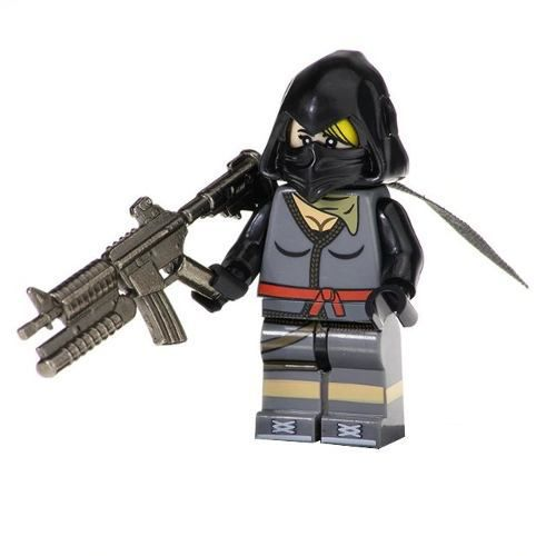 Boneco Fortnite Compatível Lego Ninja
