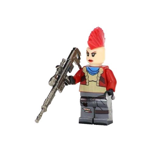 Boneco Fortnite Compatível Lego Outlander