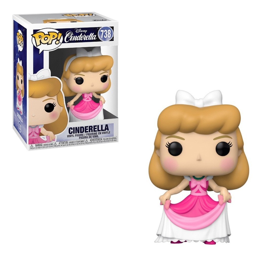 Boneco Funko Pop Disney Cinderella 738