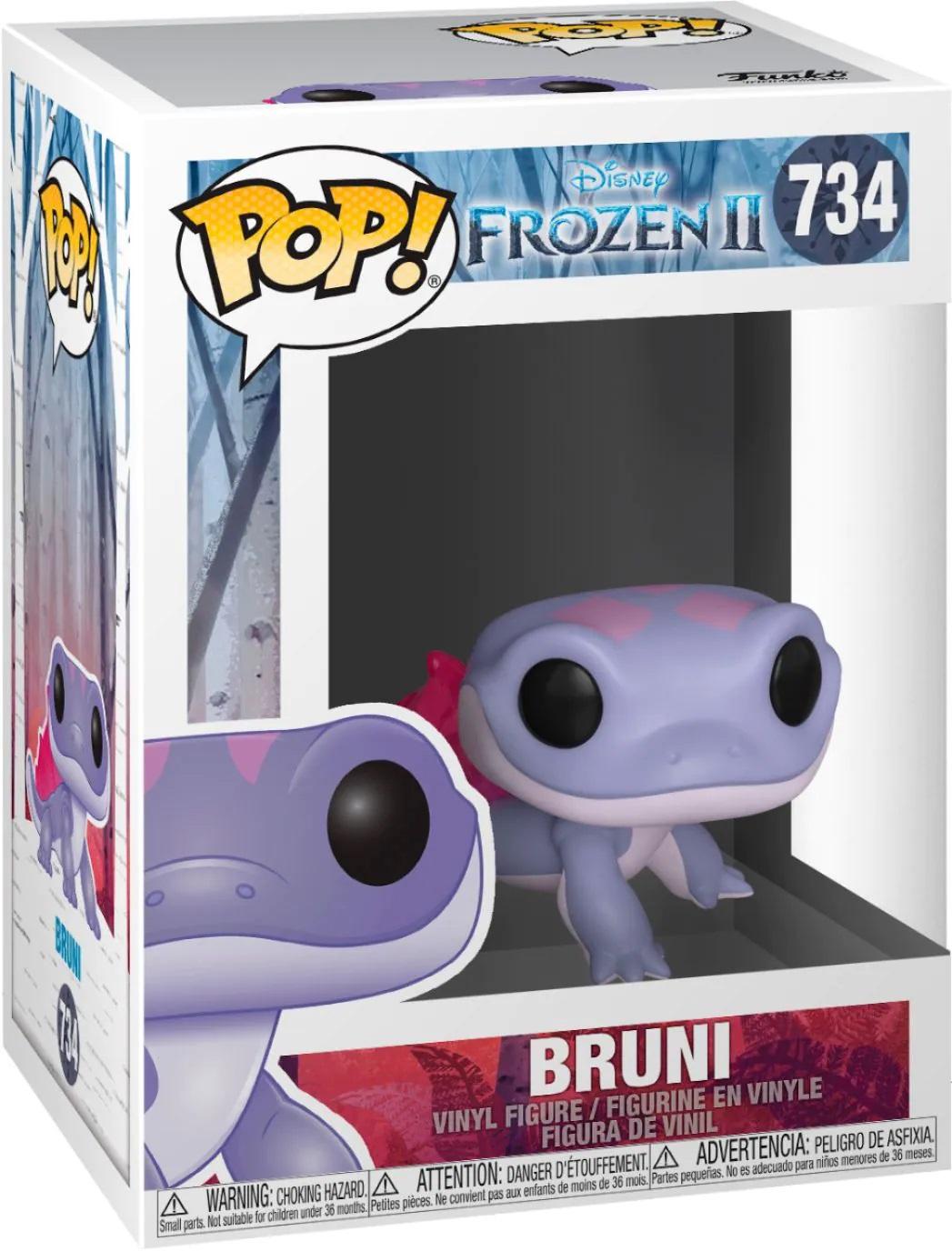 Boneco Funko Pop Disney Frozen 2 Bruni 734