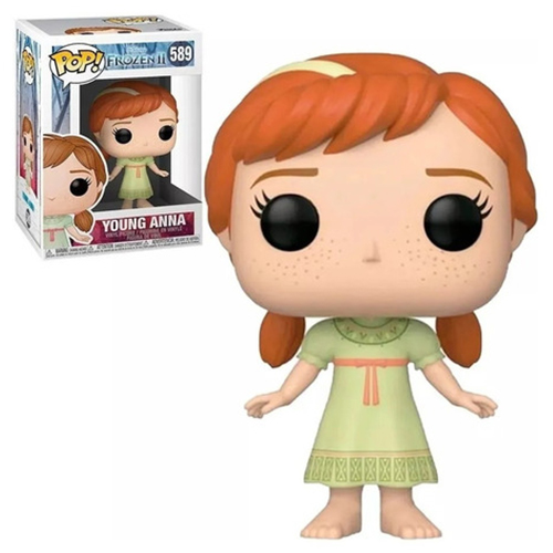 Boneco Funko Pop! Disney - Frozen 2 - Young Anna #589