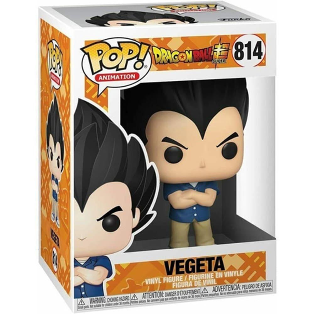 Boneco Funko Pop Dragon Ball Super Vegeta Dia De Passeio 814