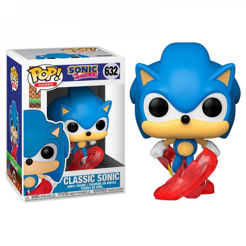 Boneco Funko Pop Games Sonic The Hedgehog Classic Sonic 632
