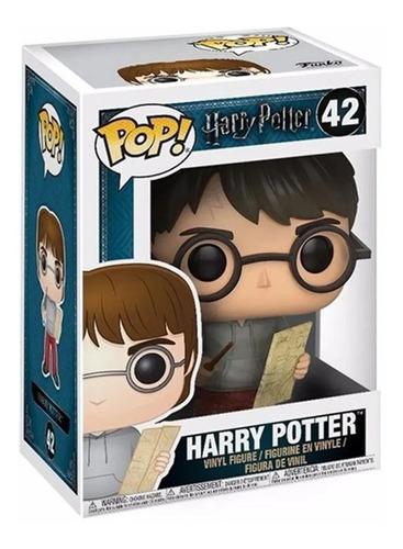 Boneco Funko Pop Harry Potter Harry Com Mapa Do Maroto 42