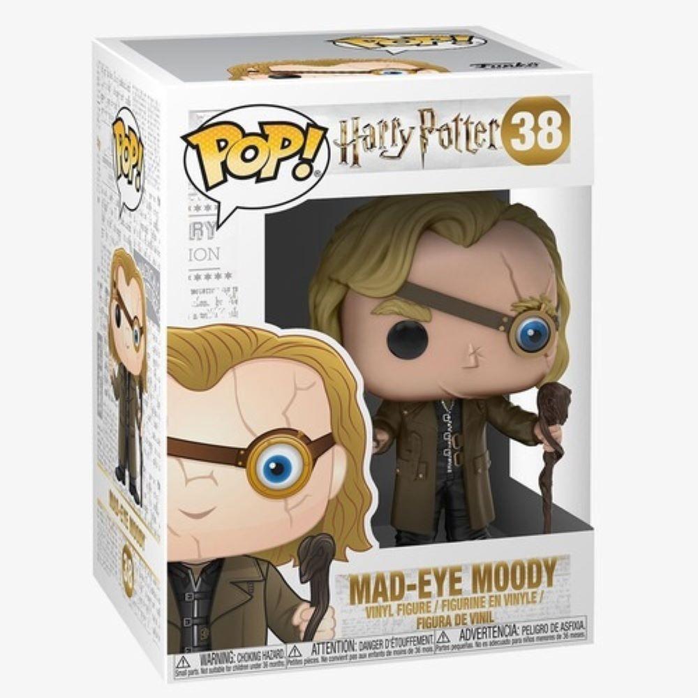 Boneco Funko Pop Harry Potter Olho Tonto Moody 38