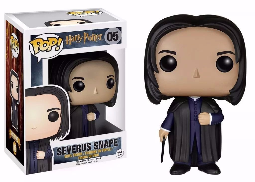 Boneco Funko Pop Movies Harry Potter - Severus Snape
