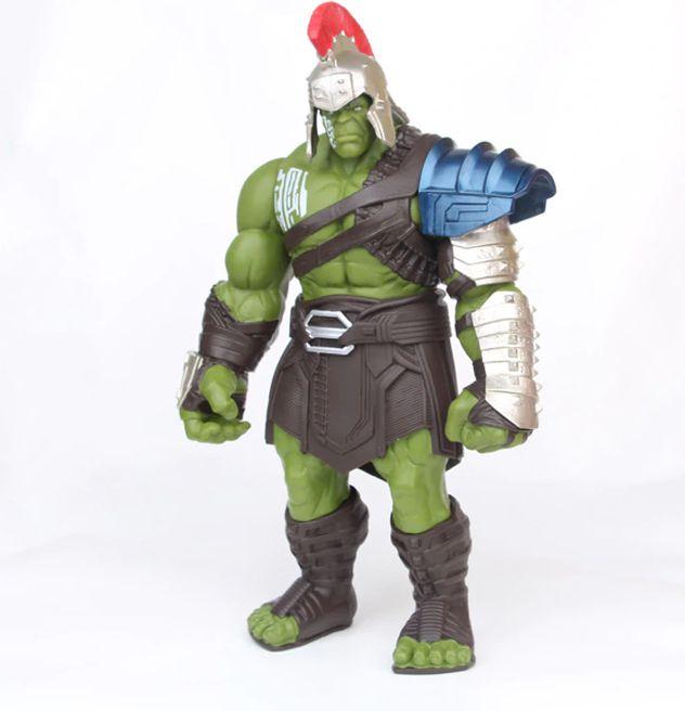Boneco Hulk Gladiador Thor Ragnarok 35cm Pvc Vingadores