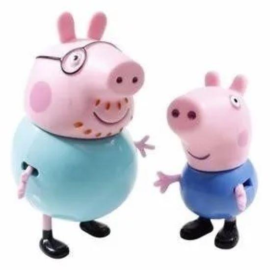 Bonecos Peppa Pig E Familia - Mini Figuras Fisher Price
