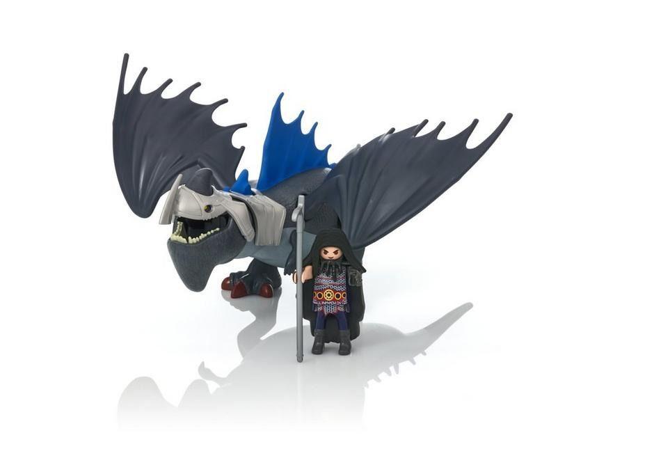 Brinquedo Playmobil Dragons Drago E Thuderclaw Sunny