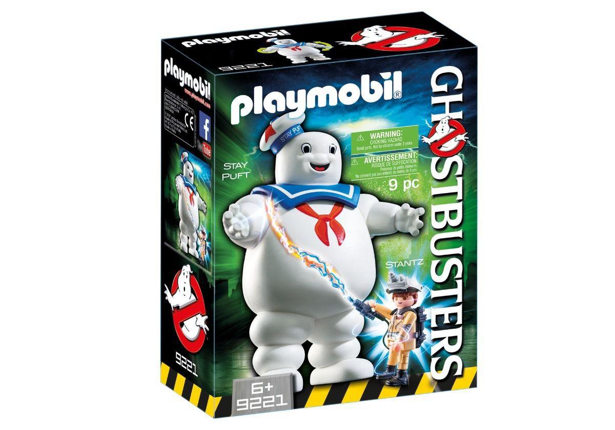 Brinquedo Playmobil Ghostbusters Homem Marshmellow Puft 9221