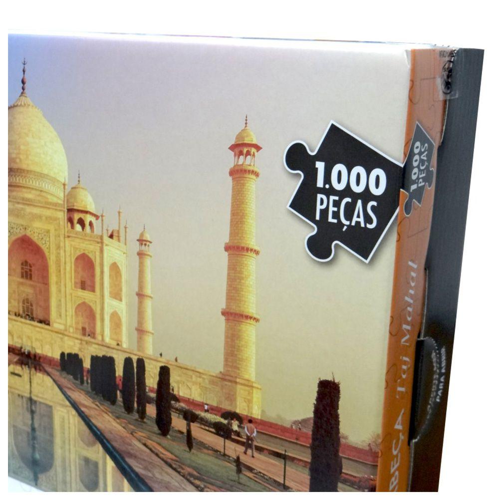 Brinquedos Educativo Quebra-cabeça De 1000 Peças Taj Mahal
