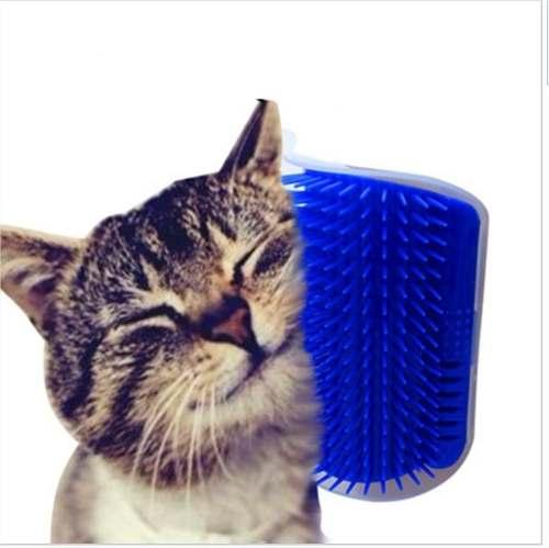 Brinquedos Para Gatos Coçador Roçador Escova Com Catnip