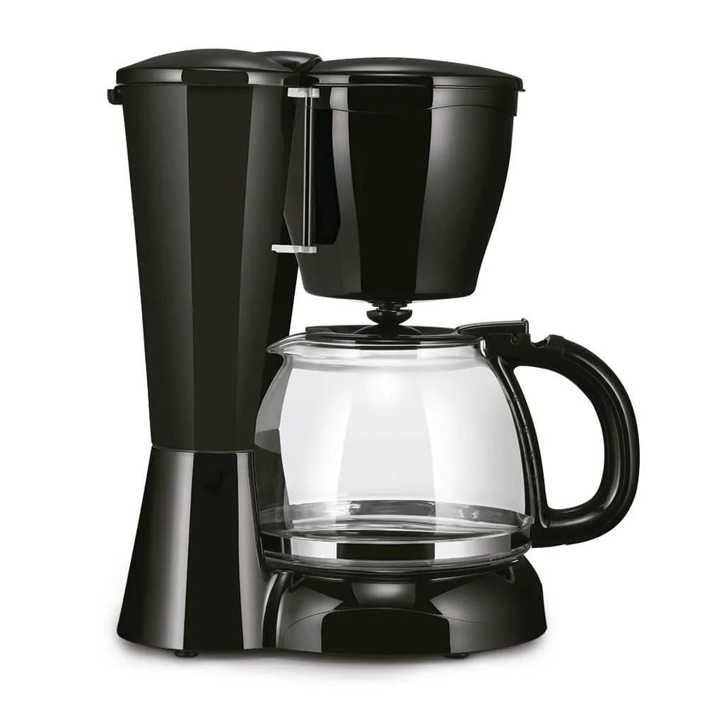 Cafeteira Elétrica 30 Xícaras Multilaser 110/220 Preta Vidro