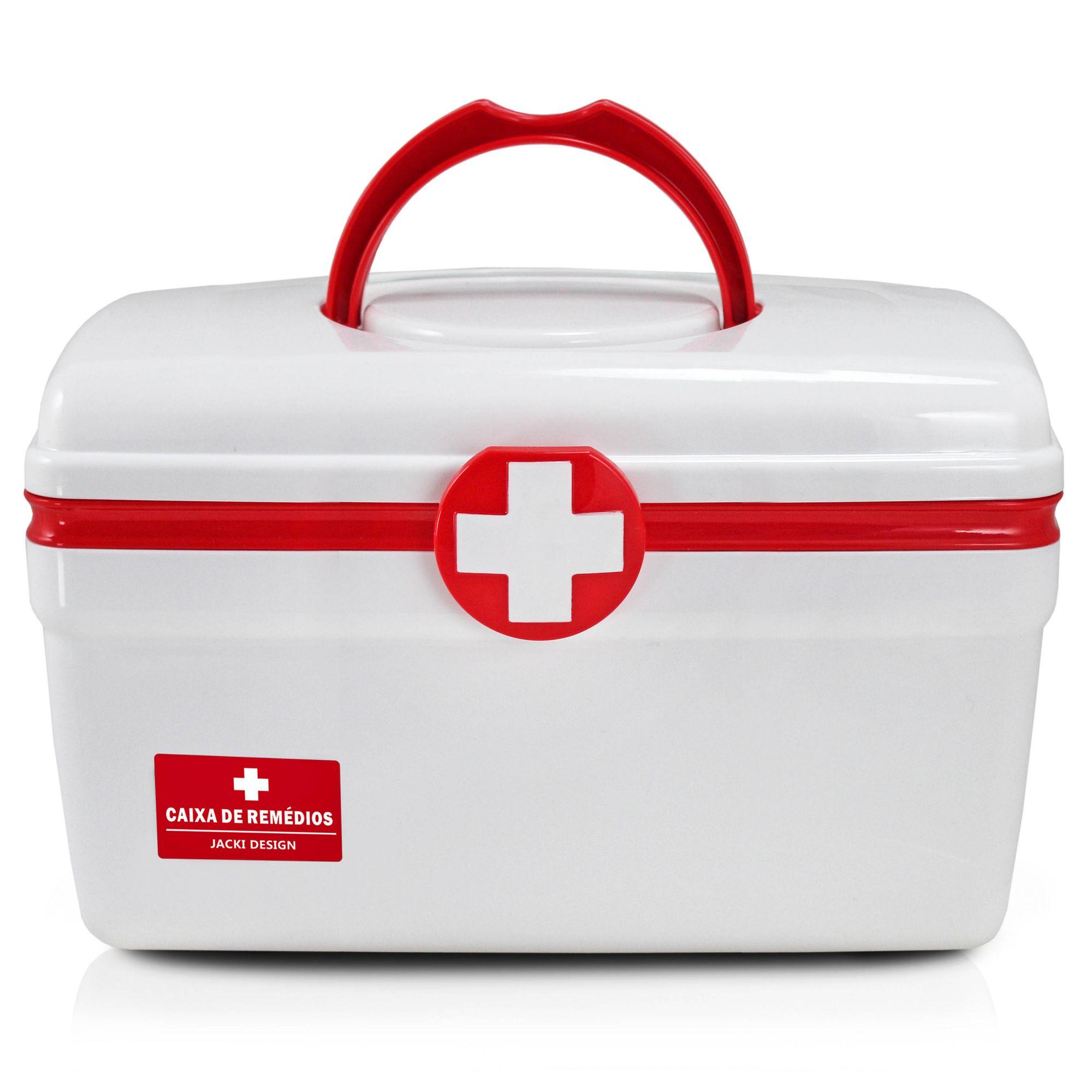 Caixa De Remédios G Ahx18719 Maleta Primeiros Socorros