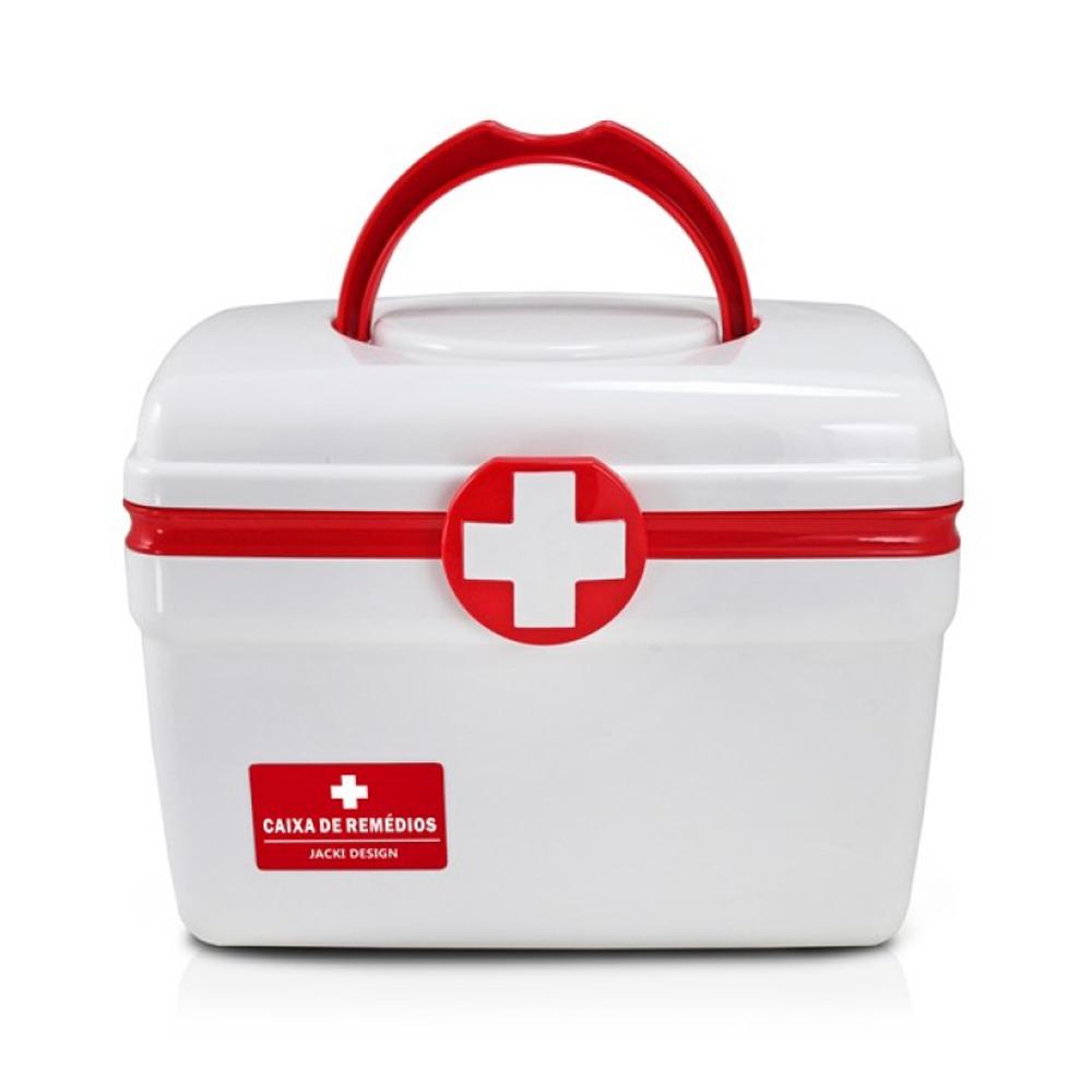 Caixa De Remédios Maleta Primeiros Socorros