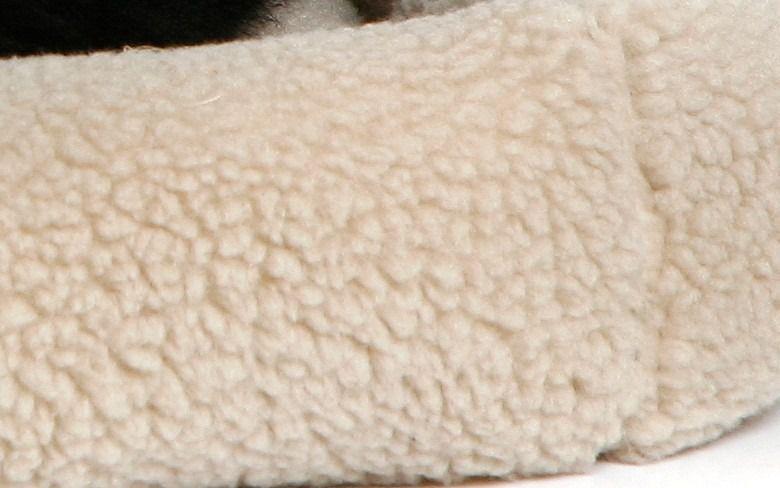 Caminha Suiça Para Cachorros Cães Luxo Pelucia Bege Tamanho P