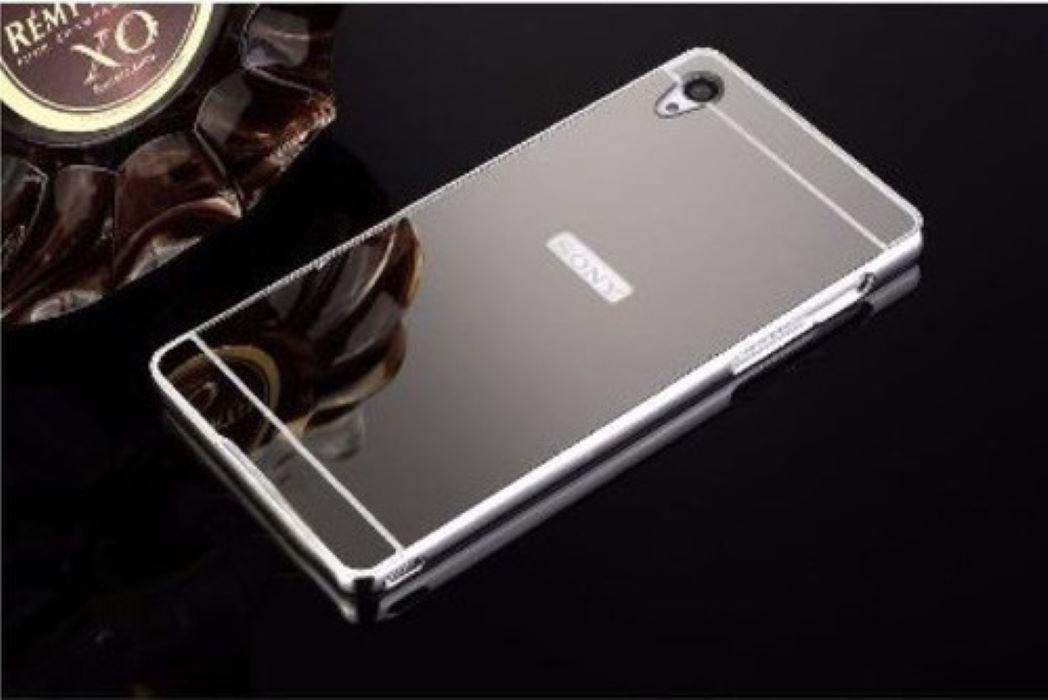 Capa Capinha Bumper Aluminio Espelhada Sony Xperia Z4