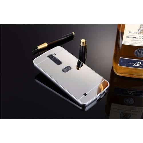 Capa Case Bumper+ Tampa Espelhada Celular Lg K10 Tv Dual Top