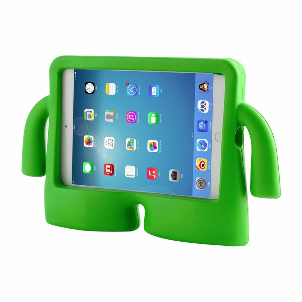 Capa Case Iguy Ipad Mini 1 2 3 4 Ultra Proteção Infantil Verde