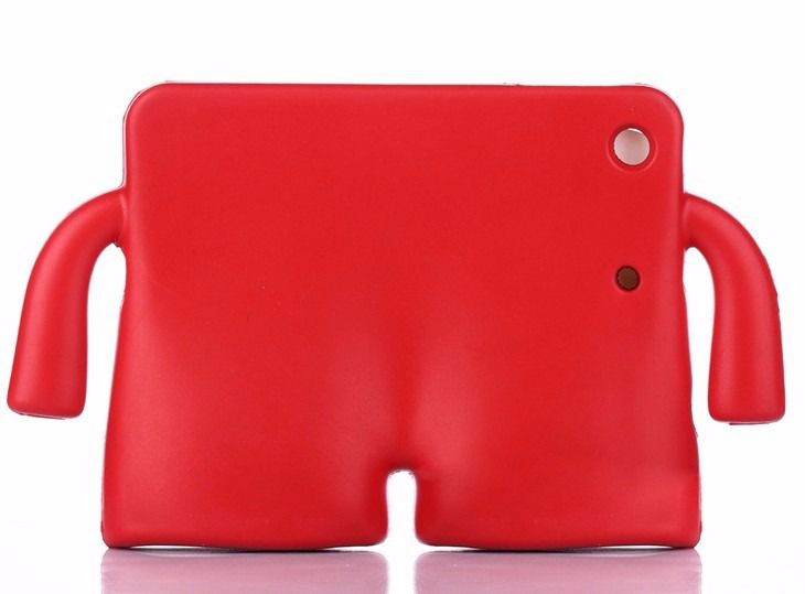 Capa Case Iguy Ipad Mini 1 2 3 4 Ultra Proteção Infantil Vermelha