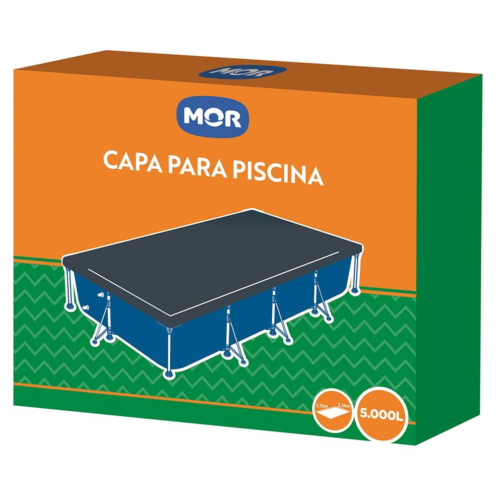 Capa Para Piscina 5000 Litros Premium Azul 1414 Mor