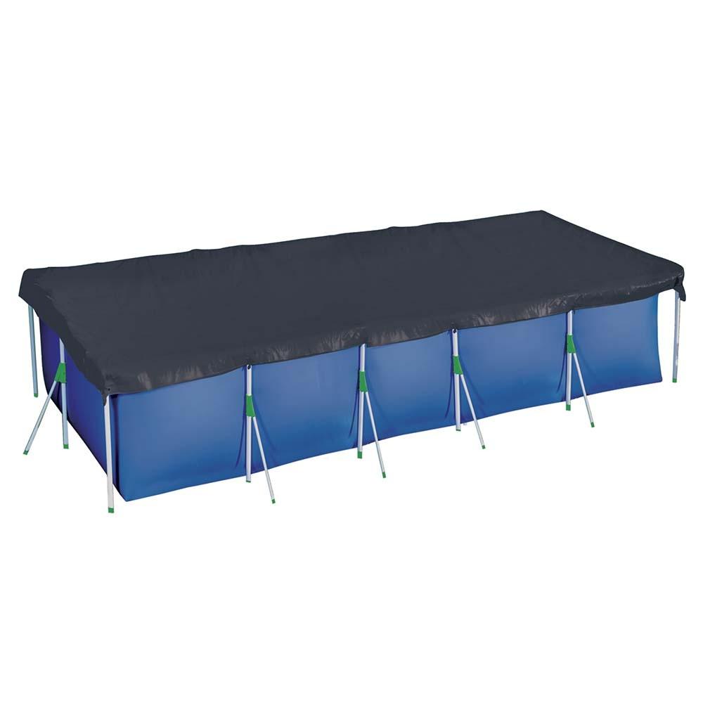 Capa Para Piscina Premium 7600 Litros Azul 1422 Mor