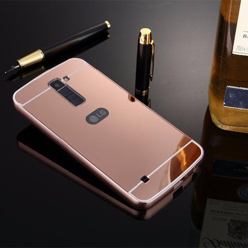 Capinha Bumper Alumínio Metal Espelhada Luxo Celular Lg K8