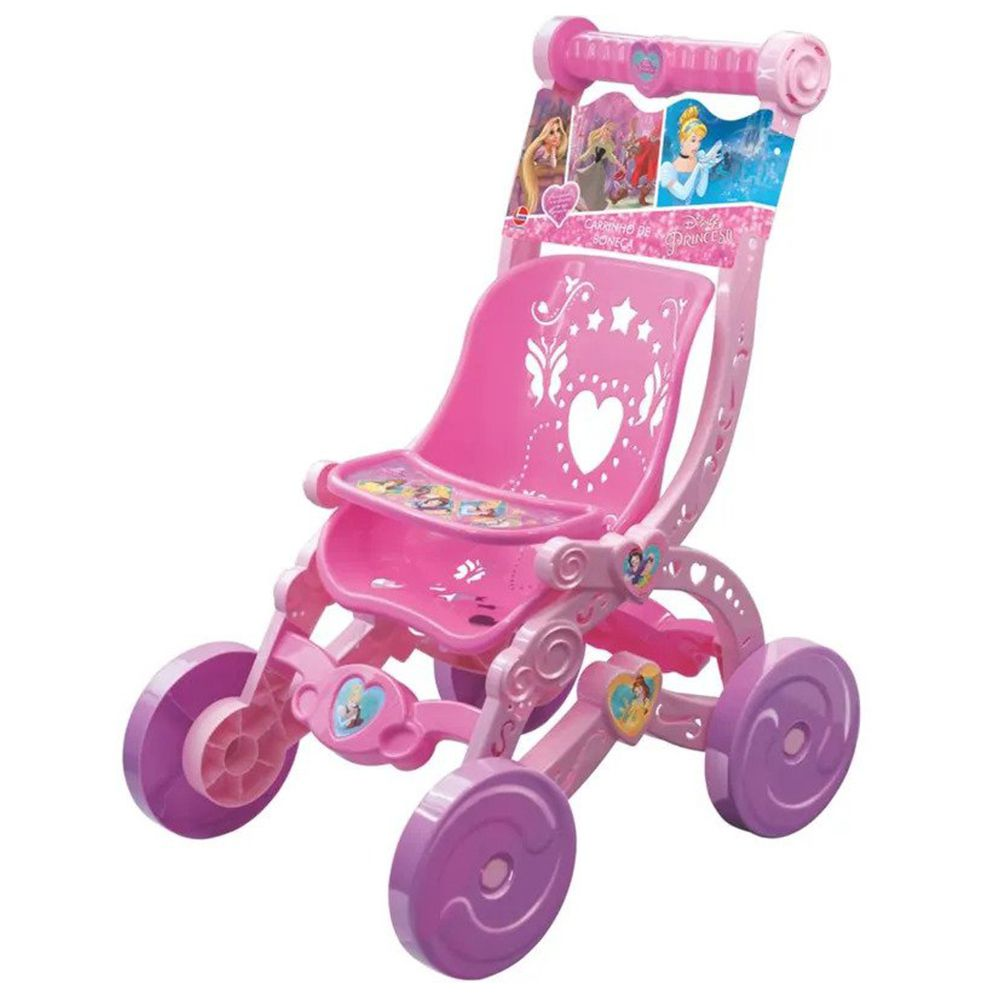 Carrinho De Boneca Bebê Reborn Princesas Da Disney Frozen Lol Baby Alive Líder - Princesas
