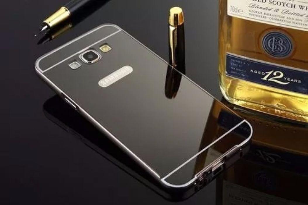 Case Capa Bumper Alumínio Galaxy J7 J700 + Galaxy A7 2016