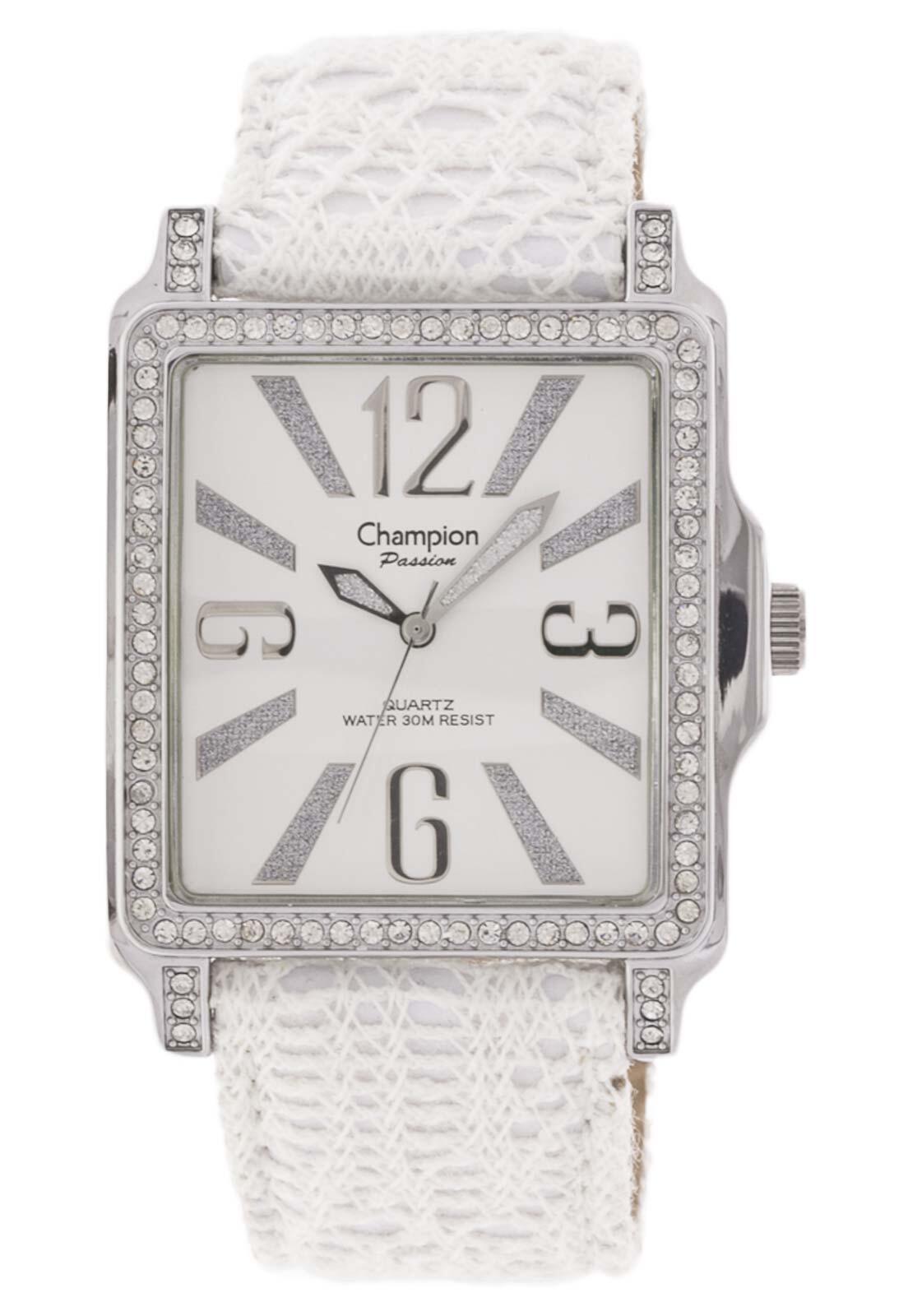 Relógio Champion Feminino Branco Luxo CH24222S