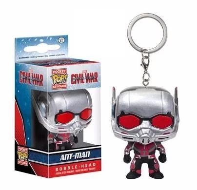 Chaveiro Ant-man - Homem Formiga - Marvel Pocket Pop! Funko