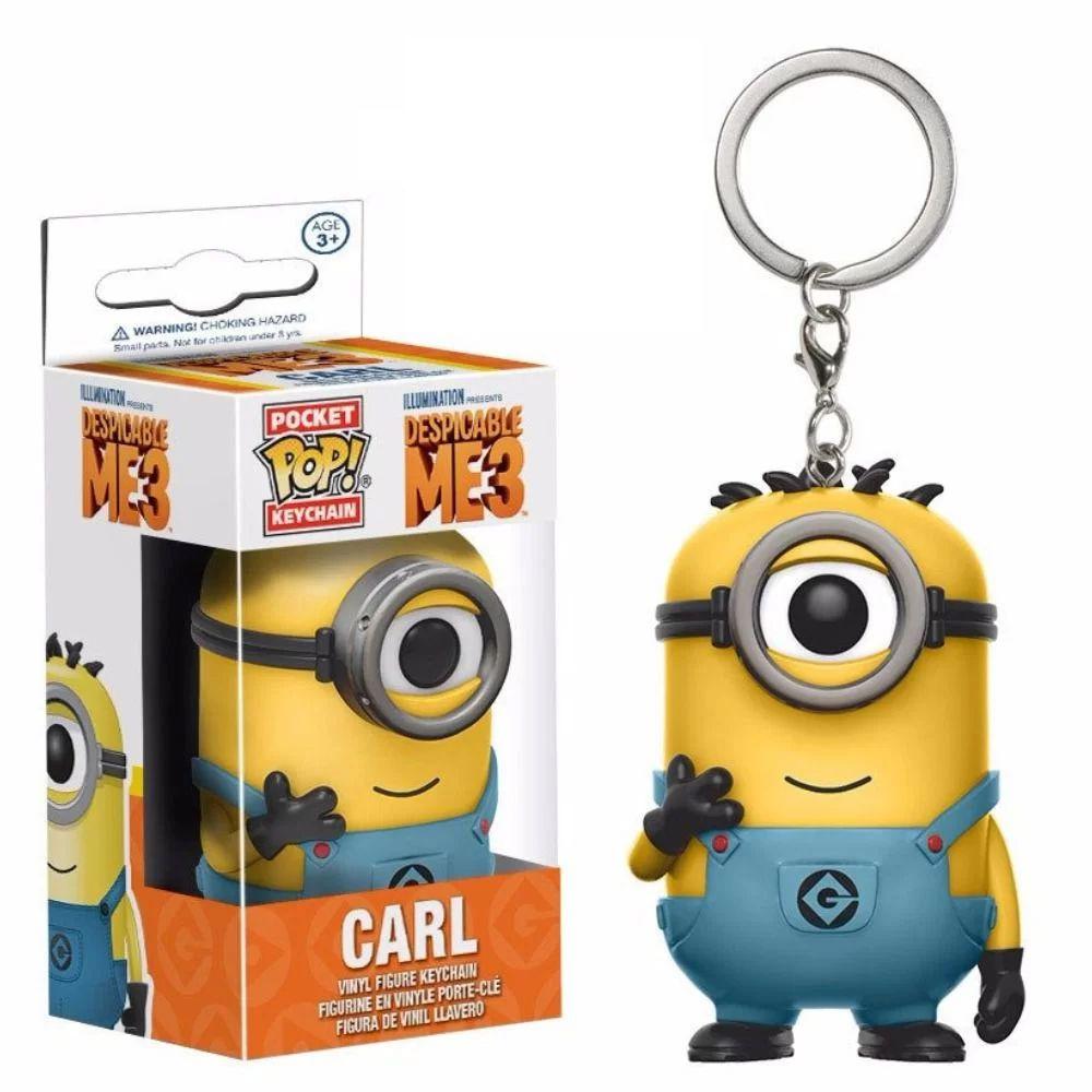 Chaveiro Carl - Pocket Pop Funko - Minions 3