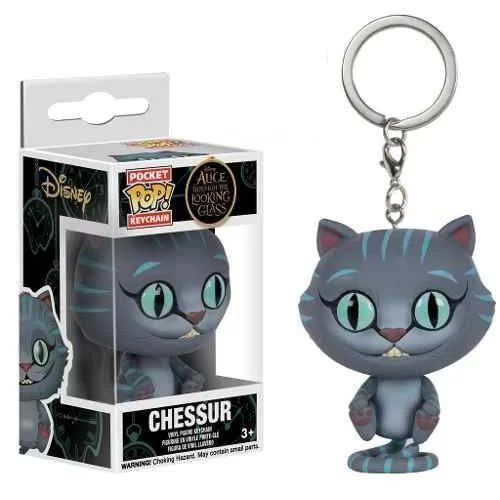 Chaveiro Chessur Cat - Alice País Das Maravilhas Pop! Funko