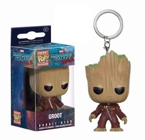 Chaveiro Groot - Pocket Pop Funko - Guardiões Galáxia 2