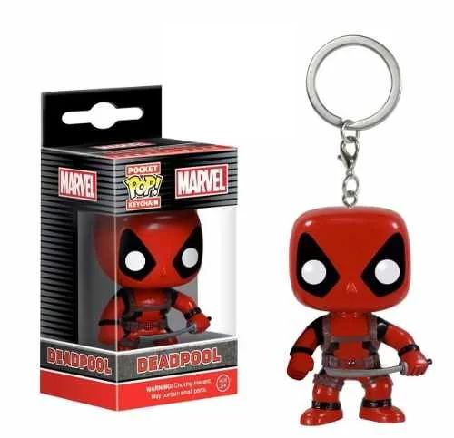 Chaveiro Keychain Funko Pop Deadpool Mini Pop Funko Marvel