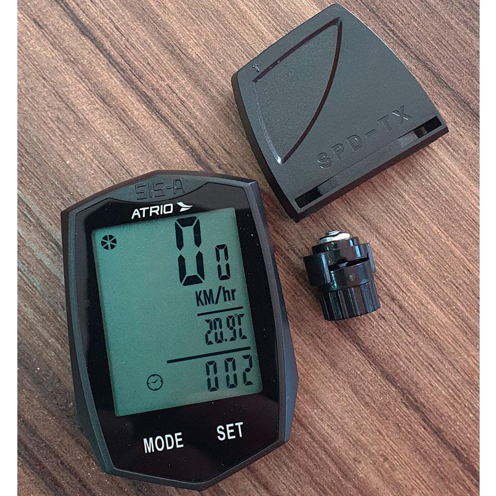 Ciclocomputador Atrio Wireless 22 Funcoes Bi086 P/ Bicicleta