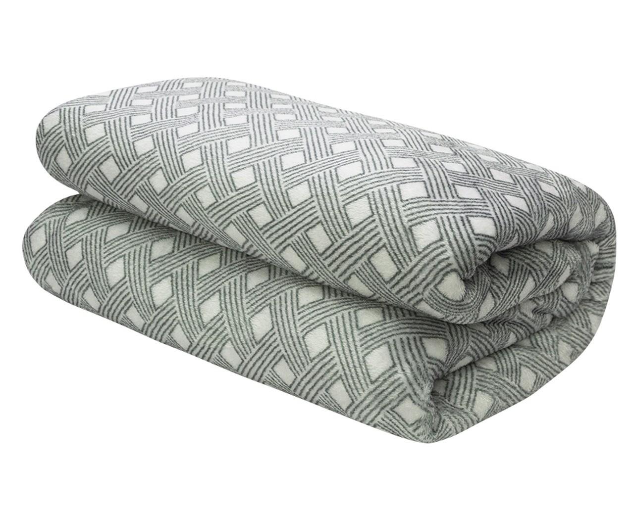 Cobertor Manta Microfibra Queen 2,40 X 2,20 Estampado Camesa