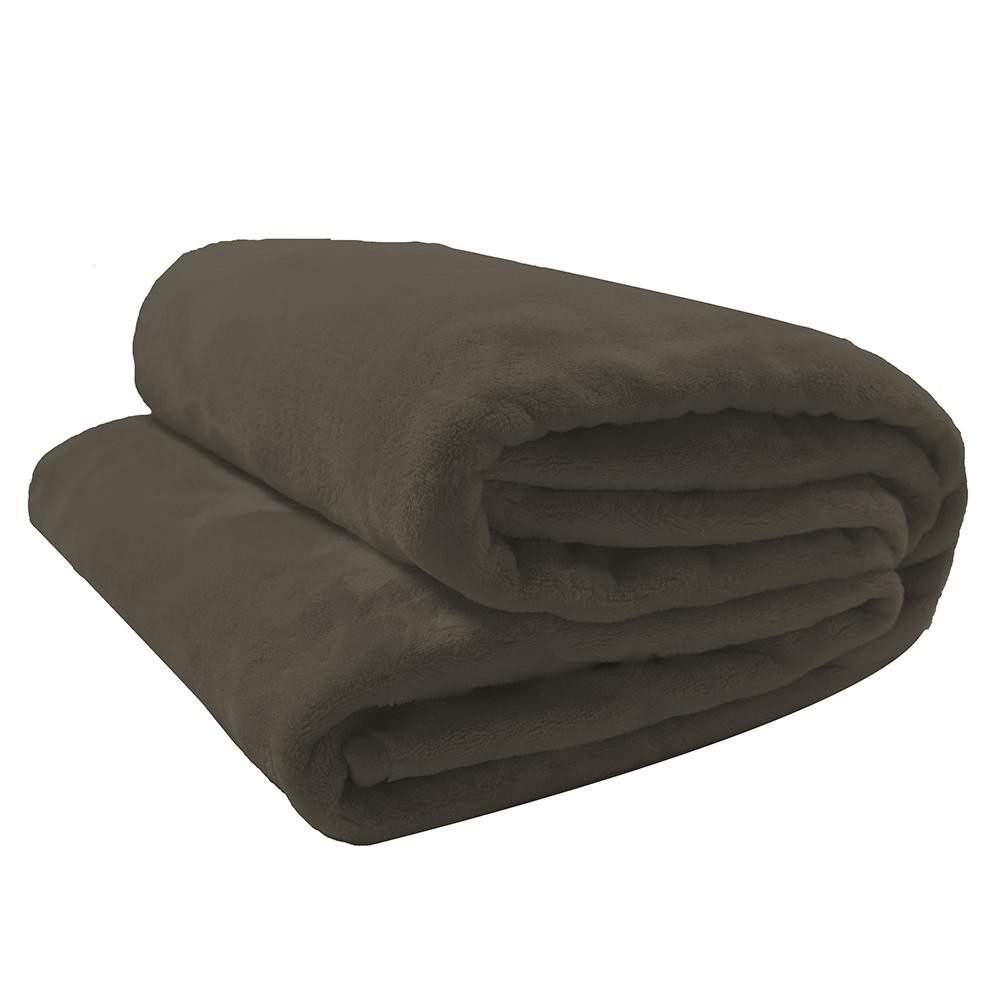 Cobertor Velour 300G Manta Solteiro 150x220 Microfibra Camesa  Neo