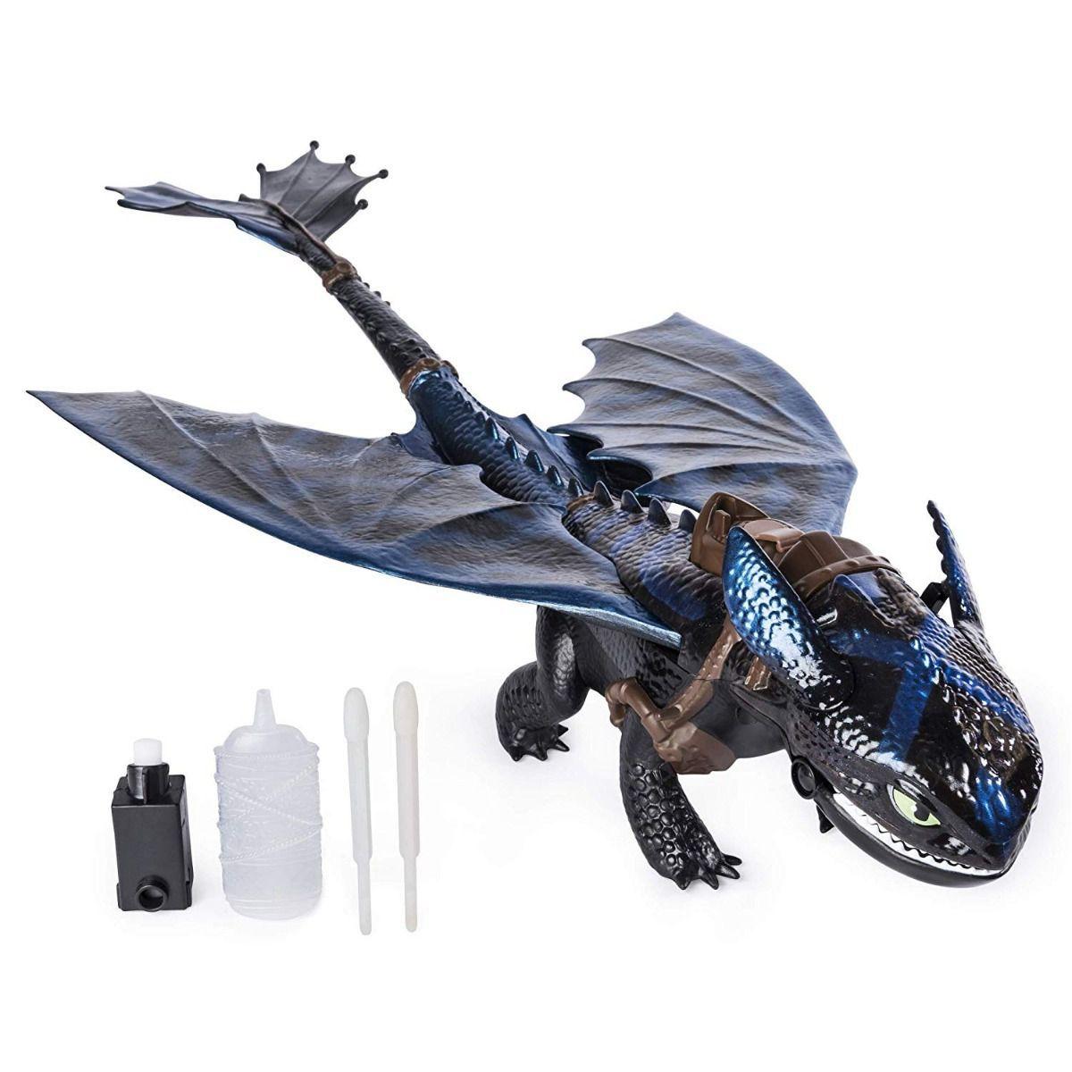 Como Treinar Seu Dragão 3 Boneco Banguela C/efeito 50cm 1454 - Sunny
