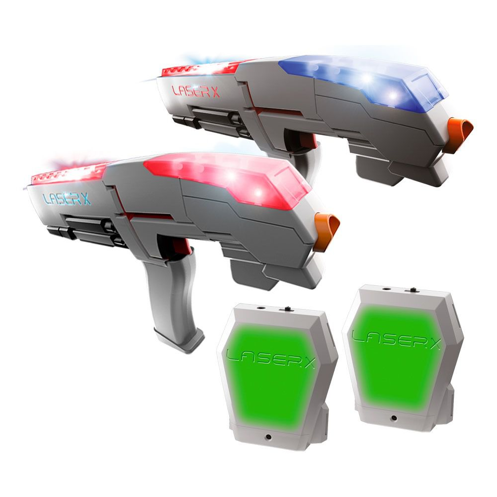 Conjunto De 2 Lançadores Infravermelho - Laser X - Sunny