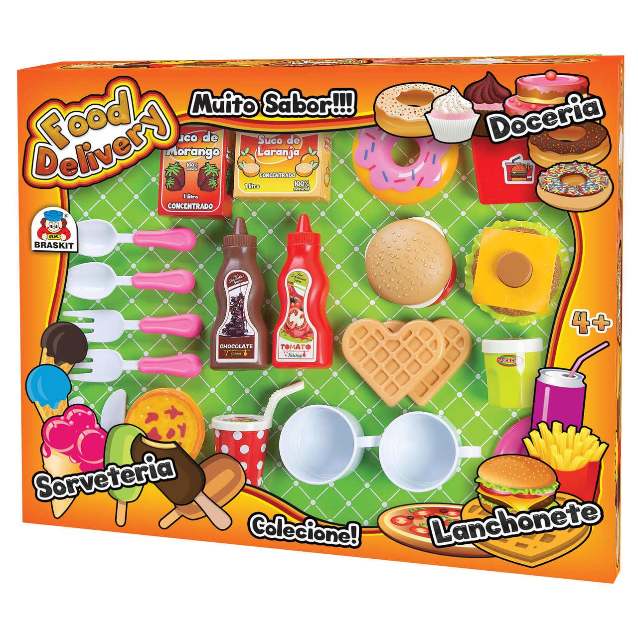 Cozinha Infantil Food Delivery Lanchonete Doceria Sorveteria